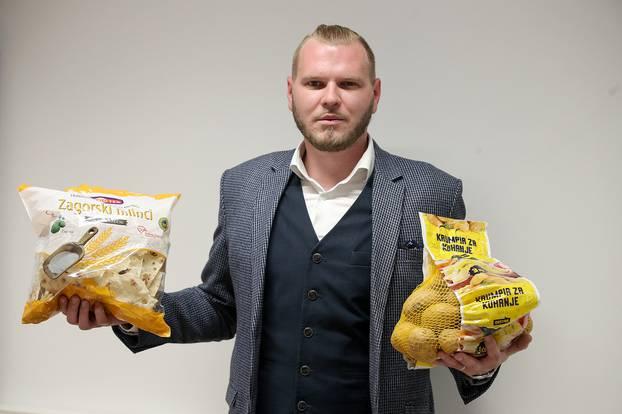 Marko Kozjak, spašavanje hrane